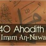 40 hadith Imam nawawi