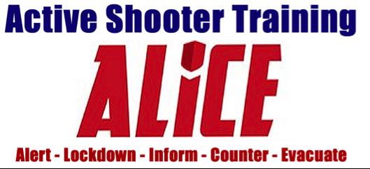 Alice Active Shooter Training Muslim Association Of