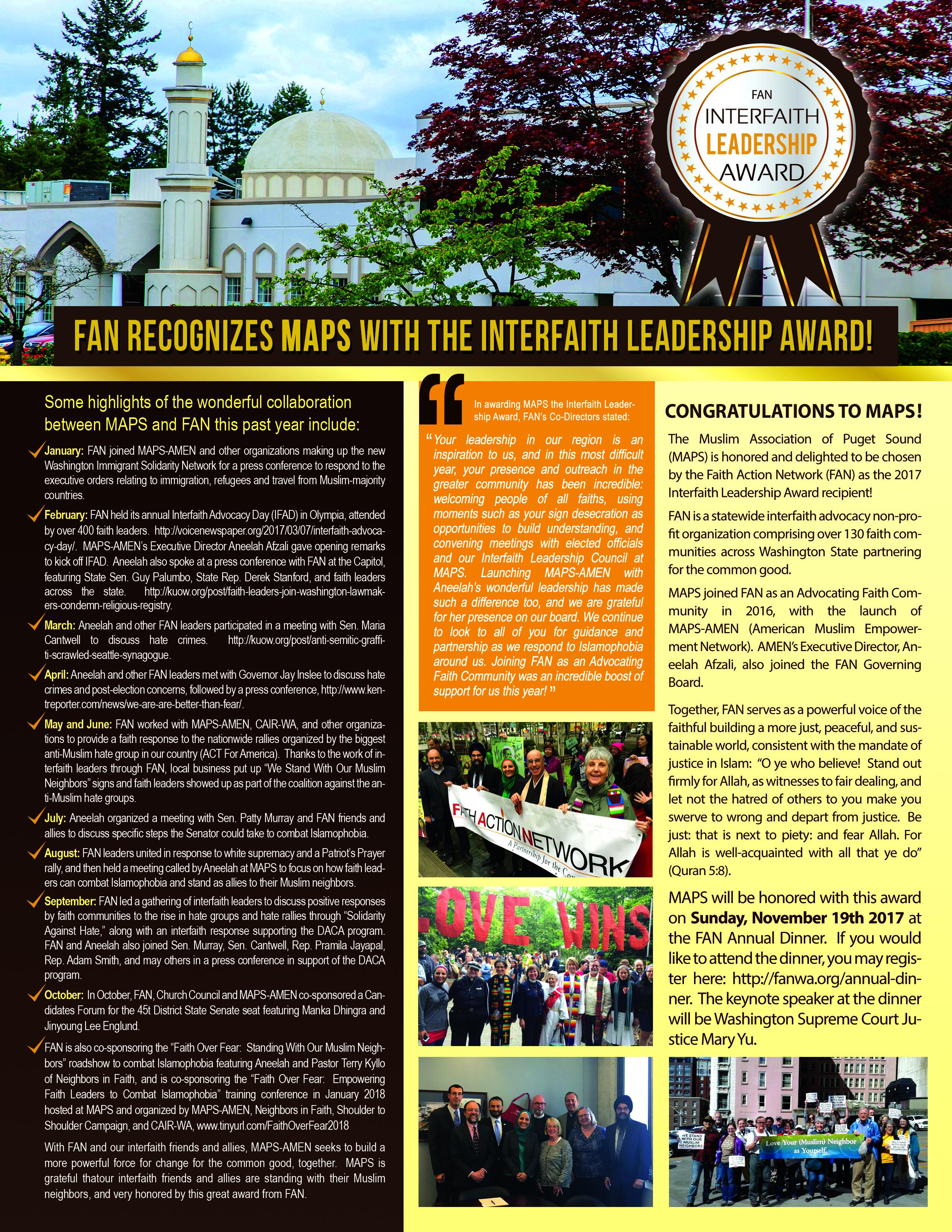 MAPS_AMEN_FAN_Newsletter_Flyer