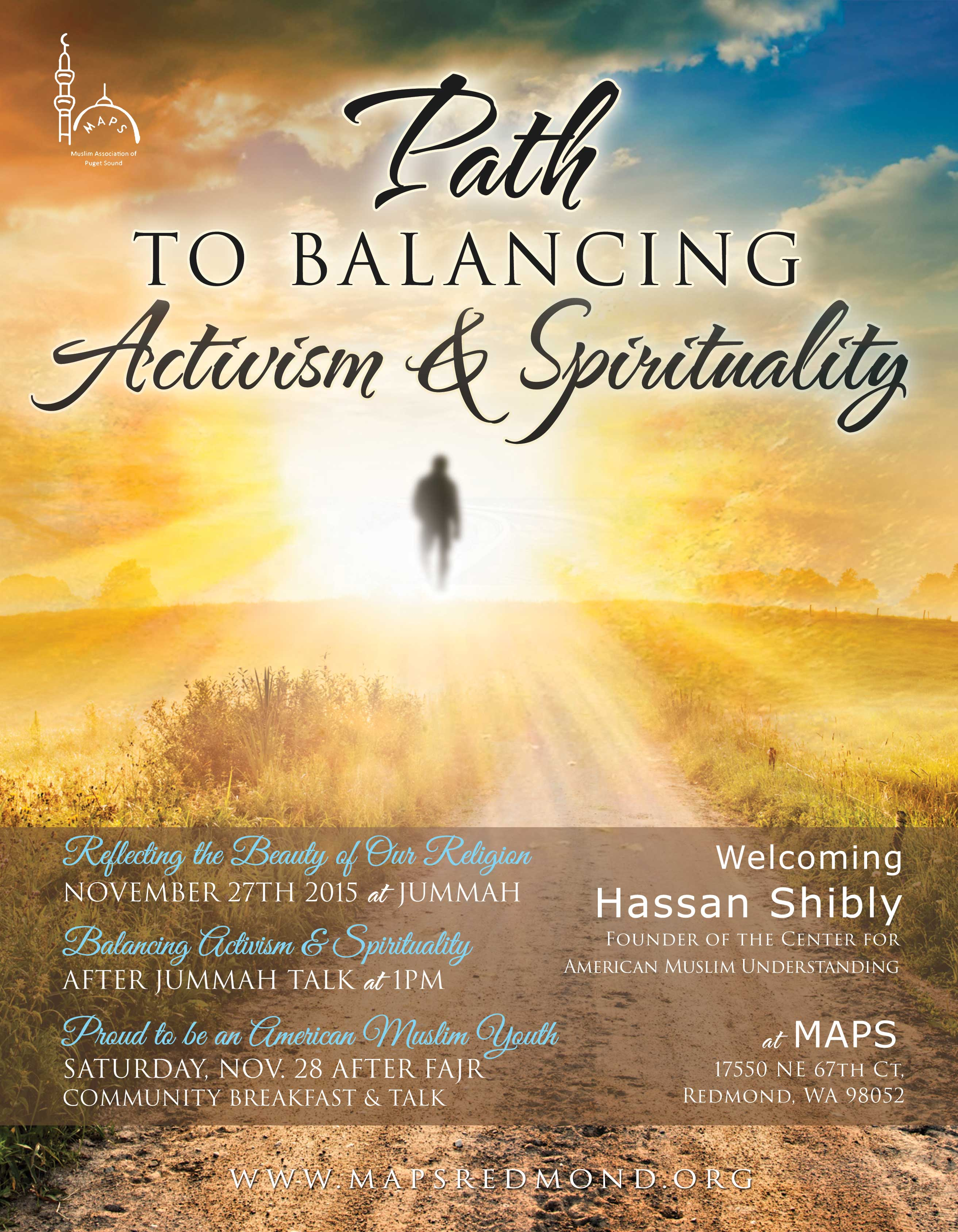 19 Nov Path To Balancing Activism And Spirituality
