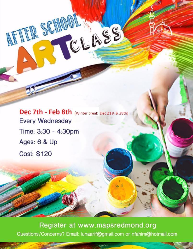 Redmond Art Classes Kids