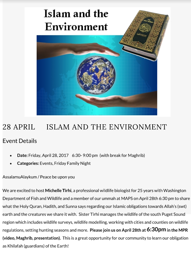 Islam and the Environment Presentation | Muslim ...