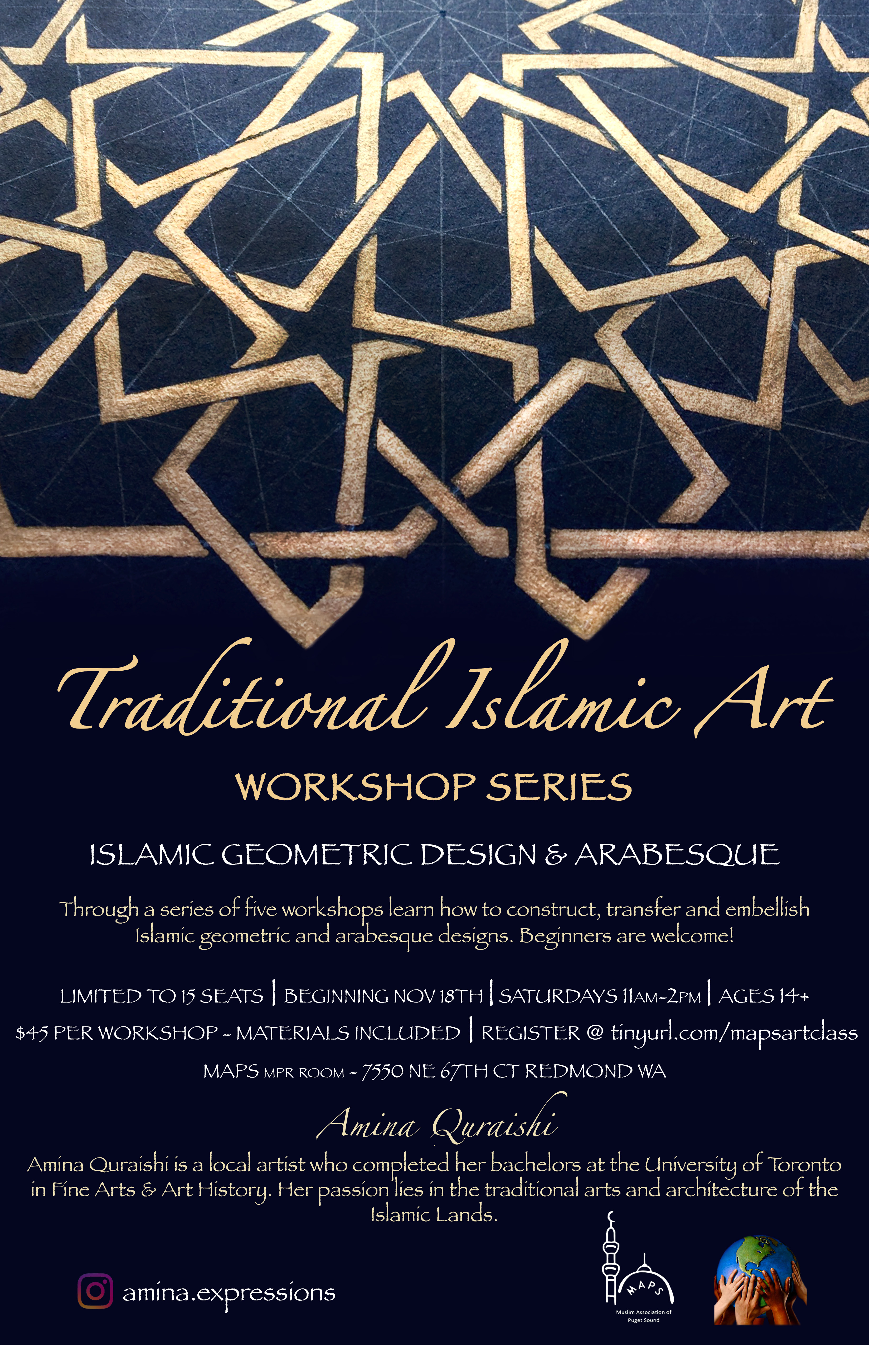 intro to traditional islamic art poster